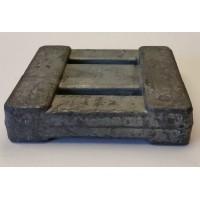 Lyijypaino käsittelemätön (lyijy pinta) 4lb 1.8kg