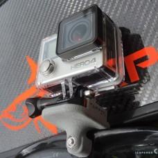 Tarpon action cameraholder for mask